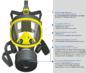 Противогаз промышленный фильтрующий ППФ-1 с панорамной маской МПГ-ИЗОД
