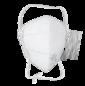 Полумаска фильтрующая респиратор Rutex® V1007 FFP1 NR D вертикальная без клапана №20